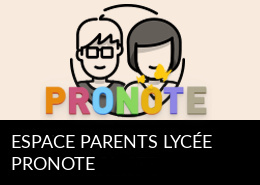 Espace parents Pronote