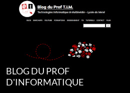Le blog du prof d'informatique